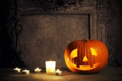 Di Halloween vita ancora Immagini Stock Libere da Diritti