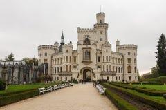 ¡ di Hlubokà del castello Fotografie Stock Libere da Diritti