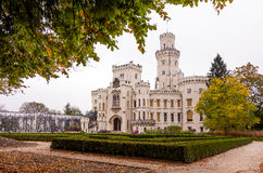 ¡ di Hlubokà del castello Immagine Stock Libera da Diritti