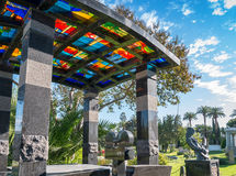 Di Hollywood cimitero per sempre - giardino delle leggende Immagine Stock Libera da Diritti