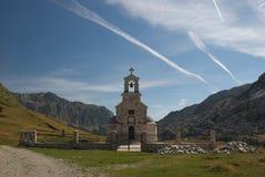 ` Di ilija di Sveti del ` della chiesa vicino al lago Kapetanovo, Montenegro Fotografie Stock
