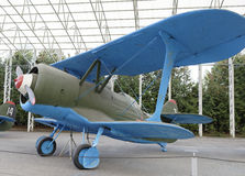 DI-6 - kämpe (USSR), 1934 max hastighet km/h-372 Royaltyfria Foton