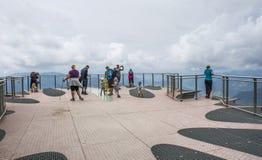` Di Koralle del ` della piattaforma di Skywalk, Tirolo, Austria Immagine Stock Libera da Diritti