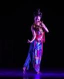 """ di Lanfang†di drama""""Mei di Apsaras-ballo di volo Fotografia Stock"""