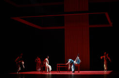 """ di Lanfang†di drama""""Mei di Rispettivo-ballo Fotografie Stock Libere da Diritti"""