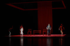 " di Lanfang†di drama""Mei di stella-ballo di opera di Pechino Immagini Stock Libere da Diritti"