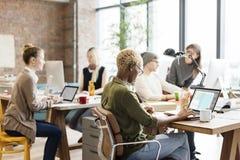 Di lavoro di squadra concetto professionale di occupazione insieme Fotografia Stock