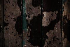 Di legno con un bagnato e sporco fotografia stock