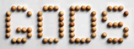 ` Di legno dei del ` di arte di parola della puntina Fotografia Stock