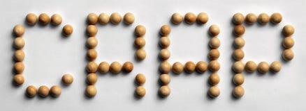` Di legno della schifezza del ` di arte di parola della puntina immagini stock libere da diritti