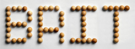 ` Di legno di Britannico del ` di arte di parola della puntina Fotografia Stock Libera da Diritti