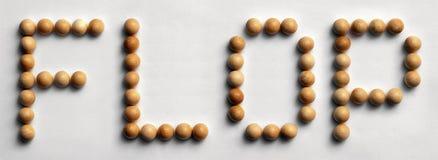 ` Di legno di caduta del ` di arte di parola della puntina immagini stock libere da diritti
