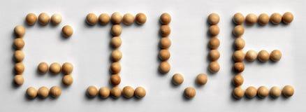 ` Di legno di elasticità del ` di arte di parola della puntina Fotografia Stock