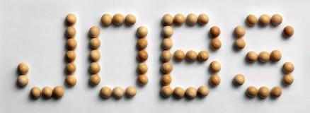 ` Di legno di lavori del ` di arte di parola della puntina Fotografia Stock Libera da Diritti