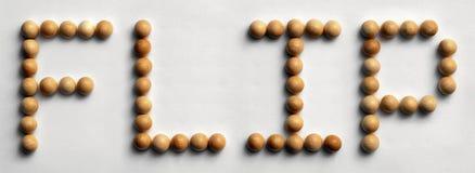 ` Di legno di vibrazione del ` di arte di parola della puntina fotografie stock libere da diritti