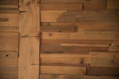 Di legno fondo della carta da parati usato vecchia pavimentazione Immagini Stock