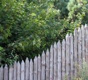 Di legno recinti il villaggio Alloggia la protezione Fotografia Stock