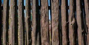 Di legno recinti la campagna Formato di web e panoramico dell'insegna Fotografie Stock Libere da Diritti