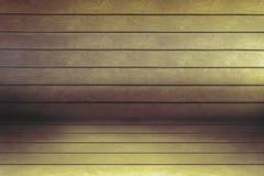 Di legno vuoto del fondo Fotografie Stock Libere da Diritti