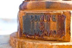 Di Livourne de Comune Images stock