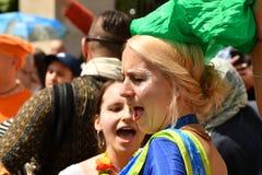 24/06/2018 di Londra Regno Unito Colori adorabili sulle vie Immagini Stock