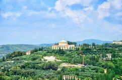 Di Lourdes de Santuario Madonna Vérone, Italie Photos stock