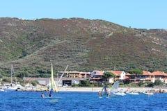 Di Marinella Sardinia de Golfo Imagem de Stock Royalty Free
