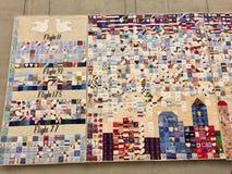 9/11 di memoriale Fotografie Stock Libere da Diritti