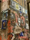 9/11 di memoriale Immagine Stock Libera da Diritti