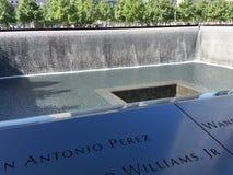 9/11 di memoriale Fotografia Stock Libera da Diritti