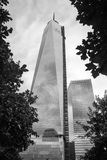 9/11 di memoriale al World Trade Center, ground zero Immagine Stock
