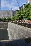 9/11 di memoriale, New York Fotografie Stock