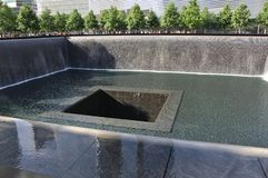 9/11 di memoriale, New York Fotografia Stock Libera da Diritti