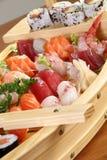 Sushi del menu Fotografie Stock Libere da Diritti