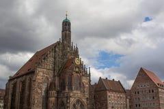 Di mercato a Norimberga immagini stock
