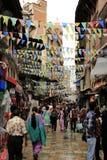 Di mercato a Kathmandu fotografie stock libere da diritti