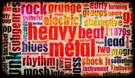 Di metalli pesanti Fotografie Stock