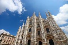 Di Milão do domo (catedral de Milão) Fotos de Stock Royalty Free