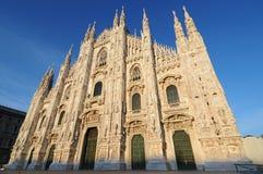 Di Milaan, Italië van IL Duomo Stock Afbeelding