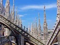 Di Milaan van Duomo Stock Foto's