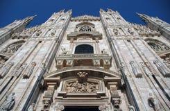 Di Milaan van Duomo Stock Fotografie