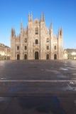 Di Milaan van Duomo Royalty-vrije Stock Afbeeldingen