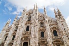 Di Milaan van Duomo Royalty-vrije Stock Afbeelding