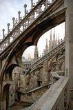 Di Milaan van Duomo Stock Afbeelding