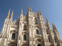 Di Milaan van Duomo Royalty-vrije Stock Foto's
