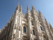 Di Milaan van Duomo Royalty-vrije Stock Foto