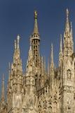 Di Milaan van IL Duomo Stock Afbeeldingen