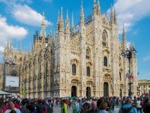 Di Milan de Duomo Photographie stock