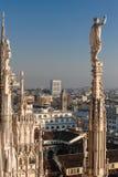 Di Milan de Duomo Photographie stock libre de droits