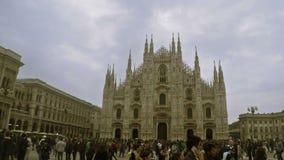 Di Milan de Duomo banque de vidéos